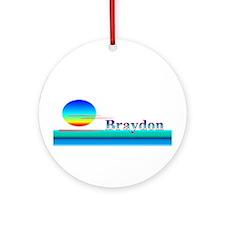 Braydon Ornament (Round)
