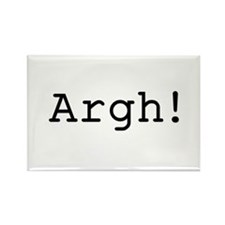 Argh! Rectangle Magnet (10 pack)
