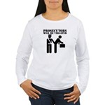 Prosecutors will be Violated Women's Long Sleeve T
