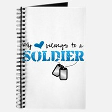 My heart belongs to a Soldier Journal