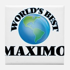 World's Best Maximo Tile Coaster