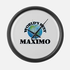 World's Best Maximo Large Wall Clock