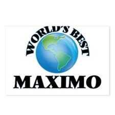 World's Best Maximo Postcards (Package of 8)