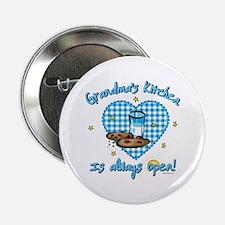 "Grandma's Kitchen Open 2.25"" Button"