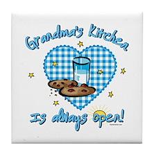 Grandma's Kitchen Open Tile Coaster
