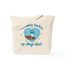Grandma's Kitchen Open Tote Bag