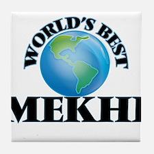 World's Best Mekhi Tile Coaster