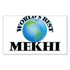 World's Best Mekhi Decal