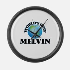 World's Best Melvin Large Wall Clock