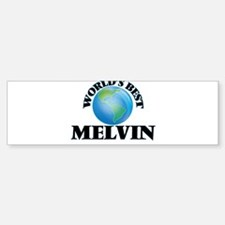 World's Best Melvin Bumper Bumper Bumper Sticker
