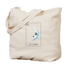 La Luna Loteria Card Tote Bag