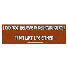 """Still Don't Believe It"" Bumper Bumper Sticker"