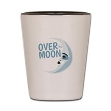 Over The Moon Shot Glass