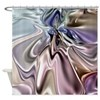 Pastels Satin Gown Shower Curtain