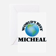 World's Best Micheal Greeting Cards