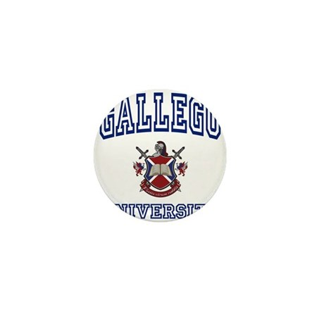 GALLEGO University Mini Button (100 pack)