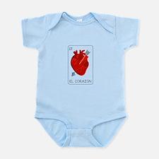 El Corazon Loteria Card Body Suit