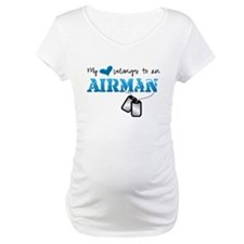 My heart belongs to an Airman Shirt