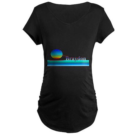Braydon Maternity Dark T-Shirt