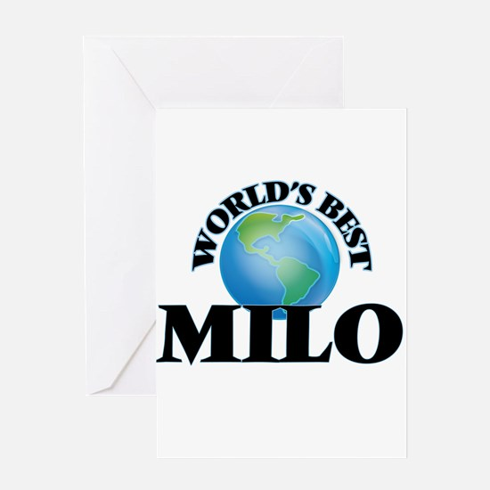 World's Best Milo Greeting Cards