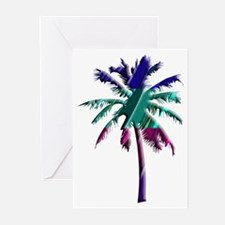 Abstract Palm Tree Greeting Cards (Pk of 10)