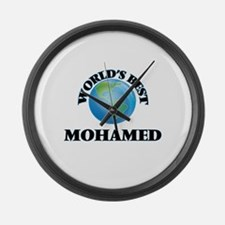 World's Best Mohamed Large Wall Clock