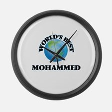 World's Best Mohammed Large Wall Clock