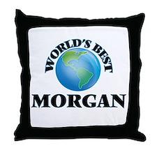 World's Best Morgan Throw Pillow
