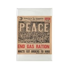 1945 Newspaper Rectangle Magnet