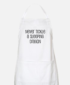 Never Tickle a Sleeping Drago BBQ Apron