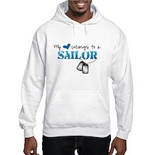 My heart belongs to my Sailor Jumper Hoody