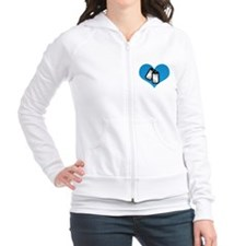 My heart belongs to my Sailor Fitted Hoodie
