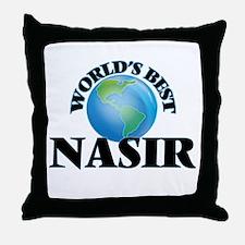 World's Best Nasir Throw Pillow