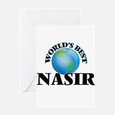 World's Best Nasir Greeting Cards