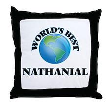 World's Best Nathanial Throw Pillow
