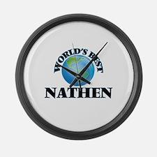 World's Best Nathen Large Wall Clock
