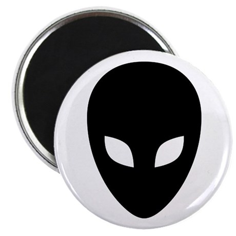 """Alien Face - Extraterrestrial 2.25"""" Magnet (10 pac"""
