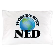World's Best Ned Pillow Case