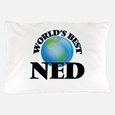 World's Best Ned Pillow Case