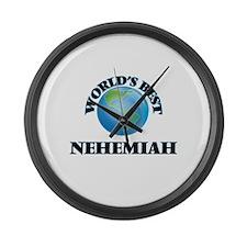 World's Best Nehemiah Large Wall Clock