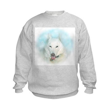 Snow Dog Kids Sweatshirt