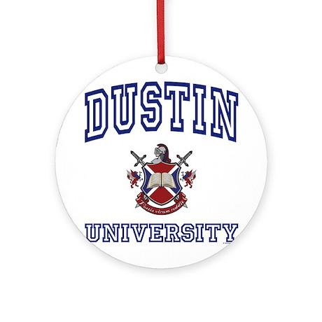 DUSTIN University Ornament (Round)