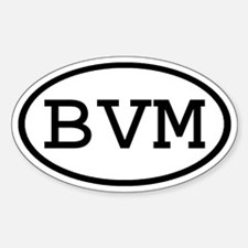 BVM Oval Oval Decal