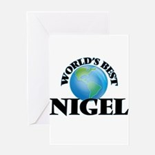 World's Best Nigel Greeting Cards