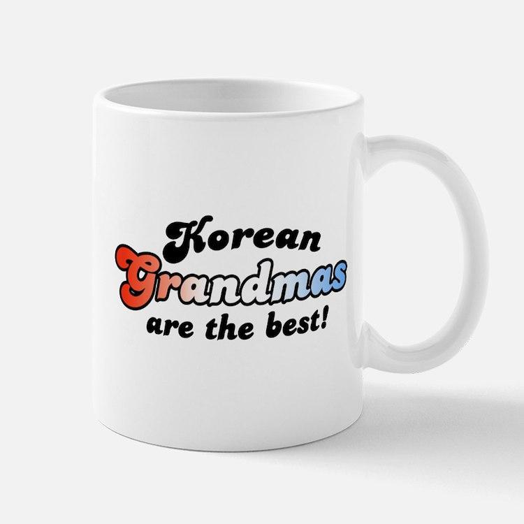 Korean Grandma Mug