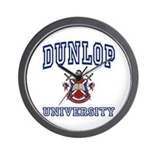 DUNLOP University Wall Clock