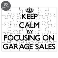 Keep Calm by focusing on Garage Sales Puzzle