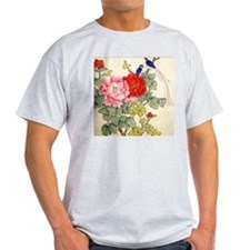 Chinese Water Color Painting T-Shirt