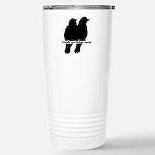 Friends are Chosen Family Quote Cute Bird Silhouet