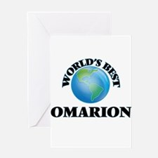World's Best Omarion Greeting Cards
